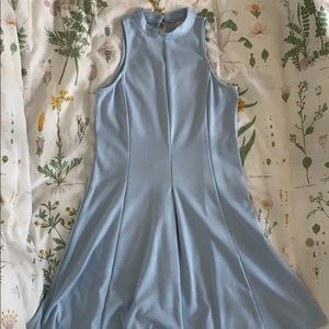 Baby blue Altar'd State Keyhole dress